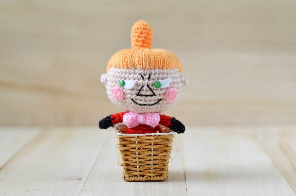 Little My from The Moomins. Free amigurumi pattern! | Amigurumi: mi ...