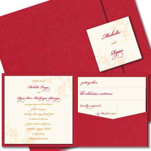 17 Best images about Red Wedding Invitations – Cheap Red Wedding Invitations