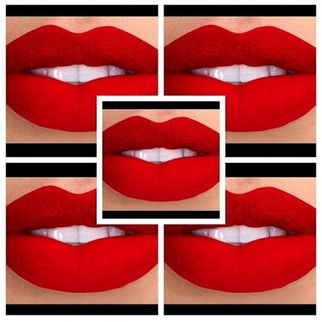 show off red matte lipstick by kaoir | Lips + Lipstick | Pinterest ...