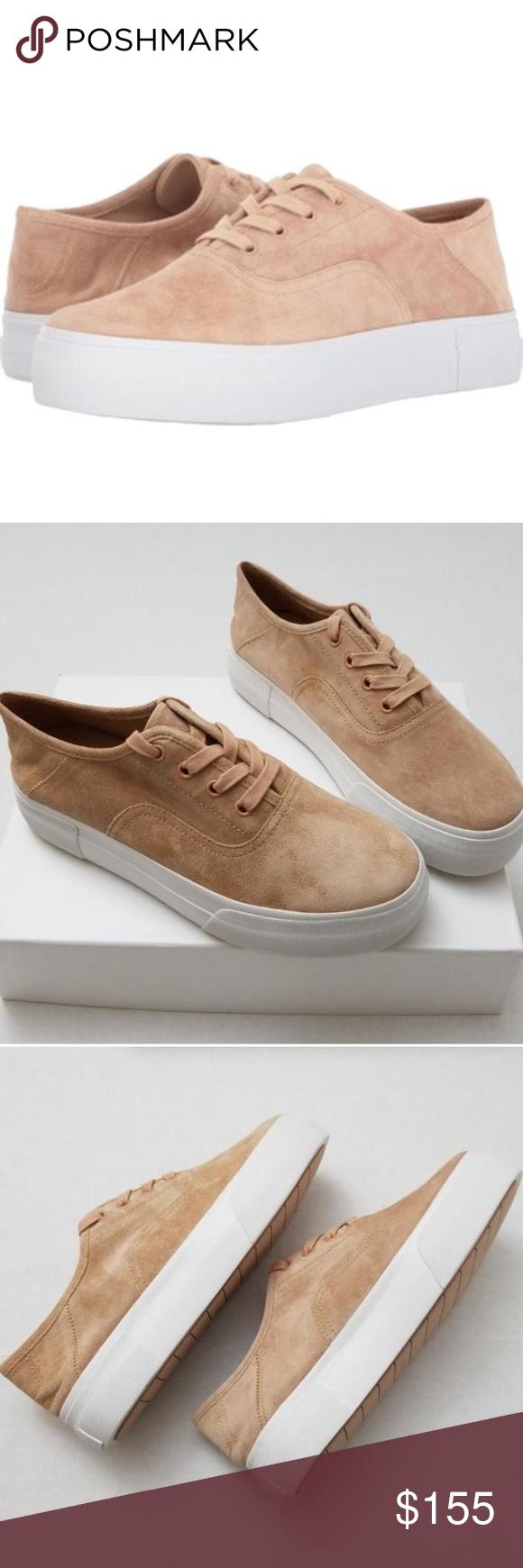 Vince Copley Rose Suede Sneakers 8