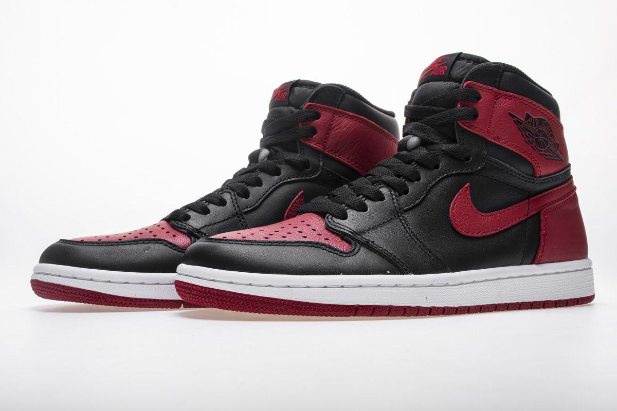 Air Jordan 1 High Banned 001 Basketball Sneaker 4