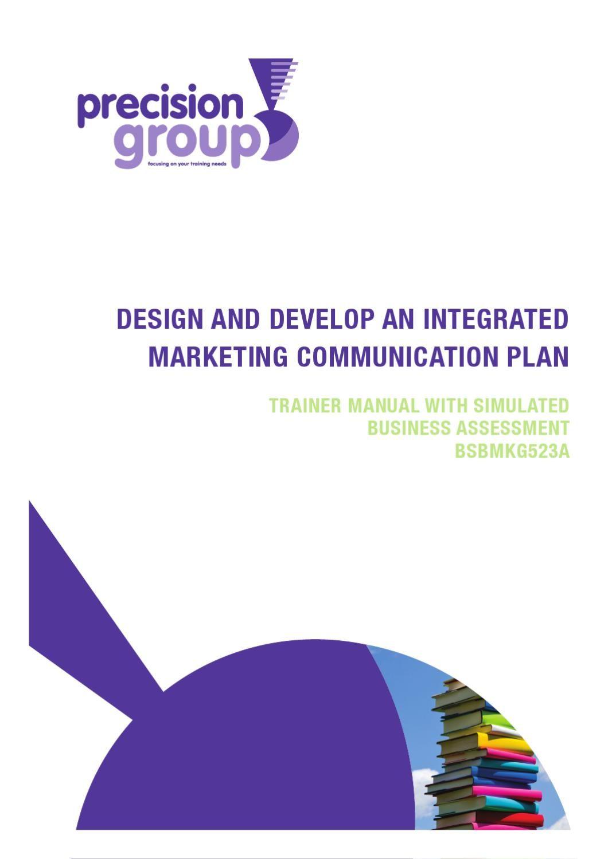 BsbmkgA  Design And Develop An Integrated Marketing