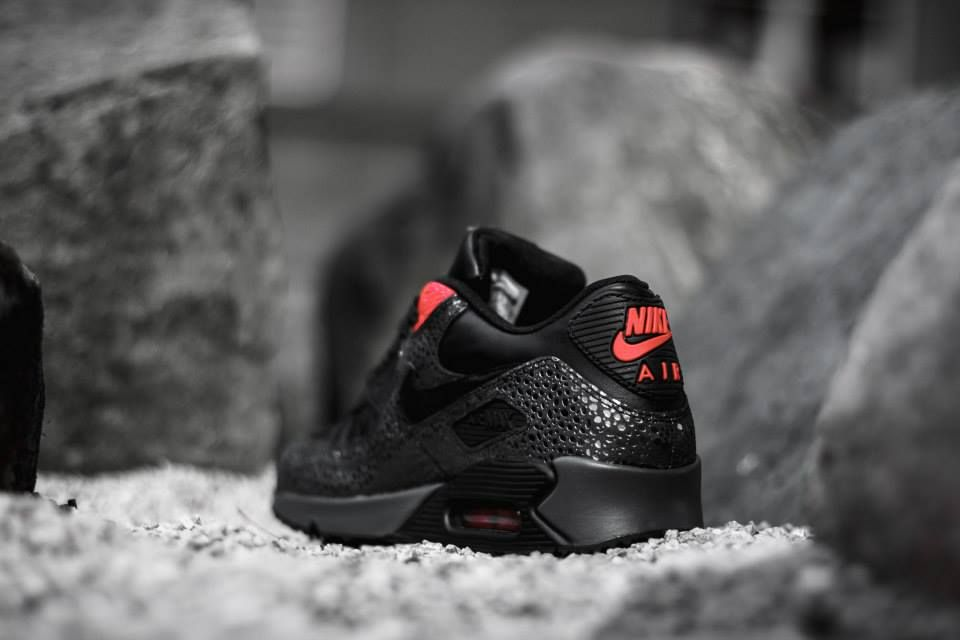 outlet store 12b10 2b90b ... Nike Air Max 90 Deluxe Infrared Safari sneakers ...