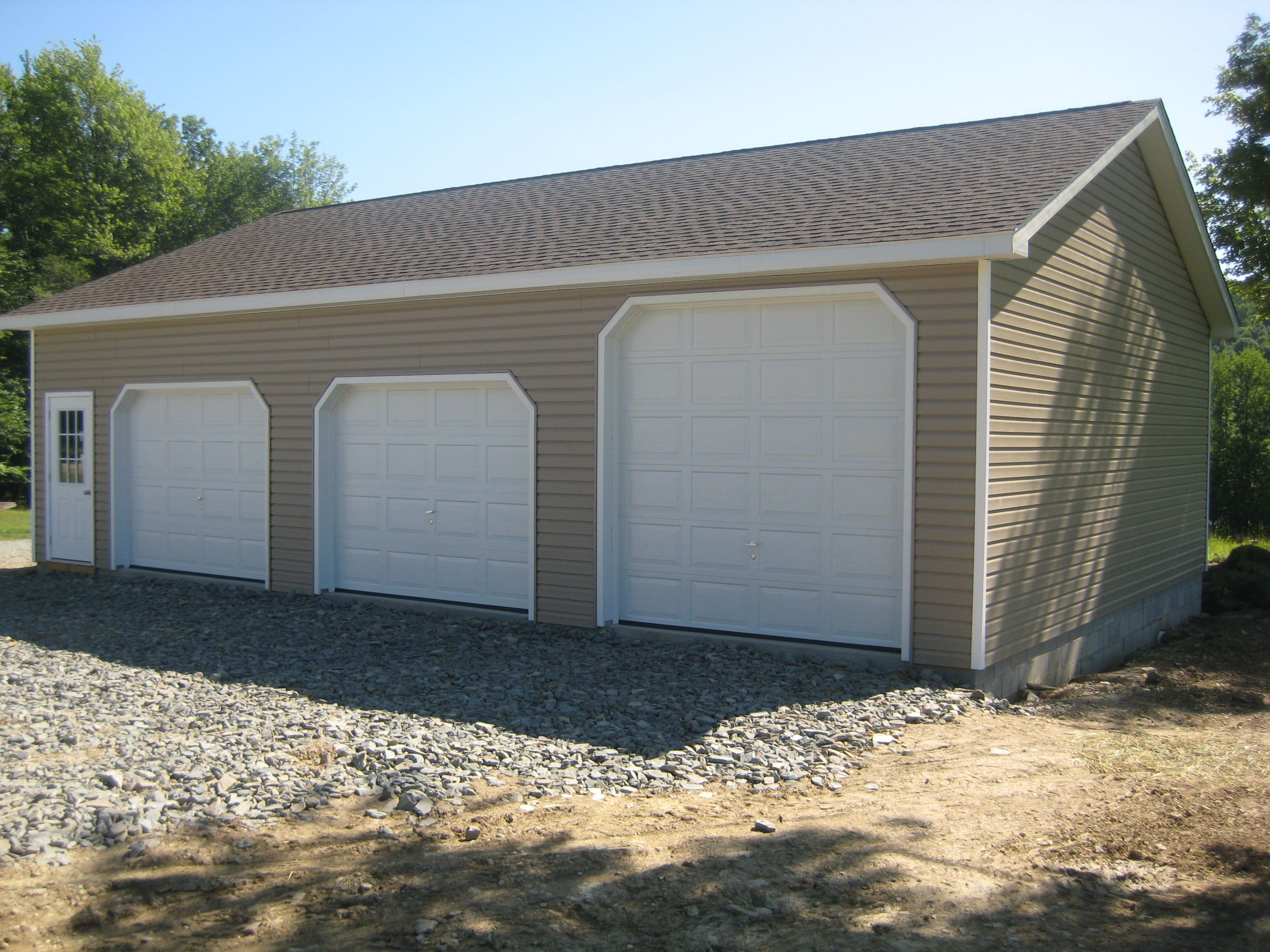 Pole barn garage plans free home plans 28 x 40 for Metal garage plans
