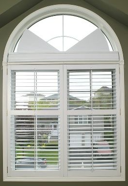 Arched Window Blind With Images Treatments