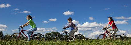 En bicicleta por la vía verde