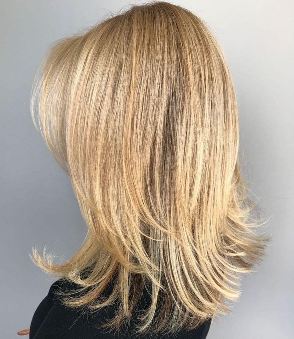 darn cool medium length hairstyles for thin hair jacquius