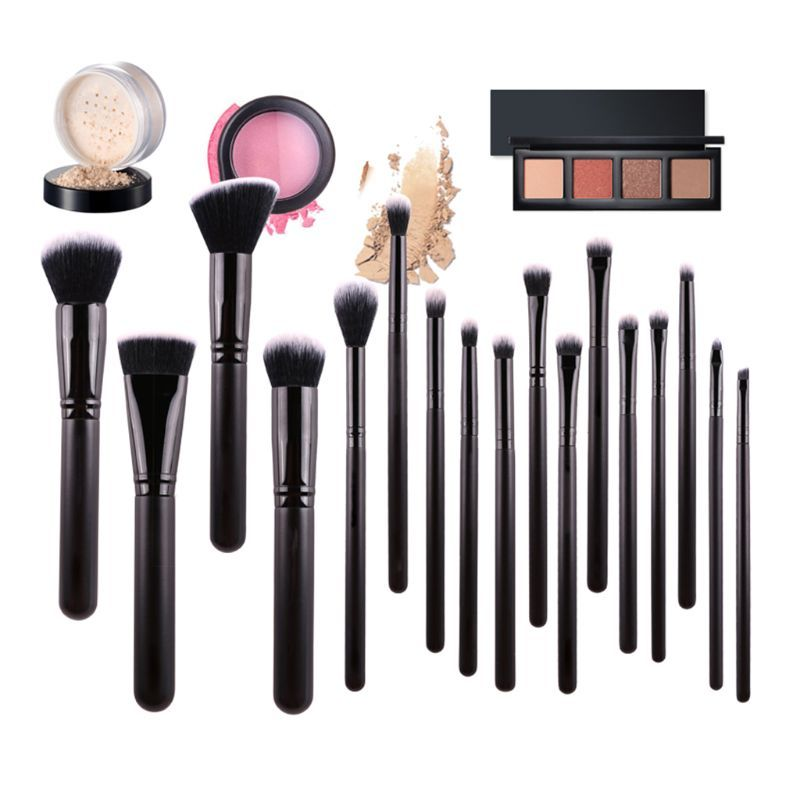 Photo of USD$11.5 17pcs Professional Makeup Brushes Set Make Up Brush Foundation Loose Powder Eyebrow Brush Home Beauty Cosmetic Cosmetic Brushes