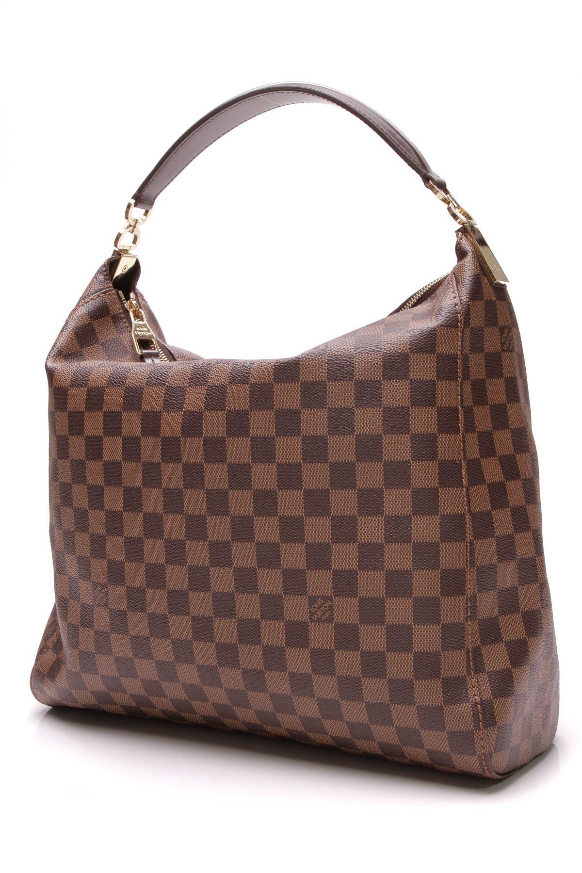 1670d84096bb Louis Vuitton Portobello GM Bag - Damier Ebene