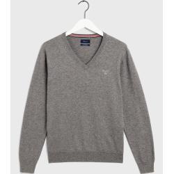 Photo of Gant V-Neck Sweater (Grau) Gant