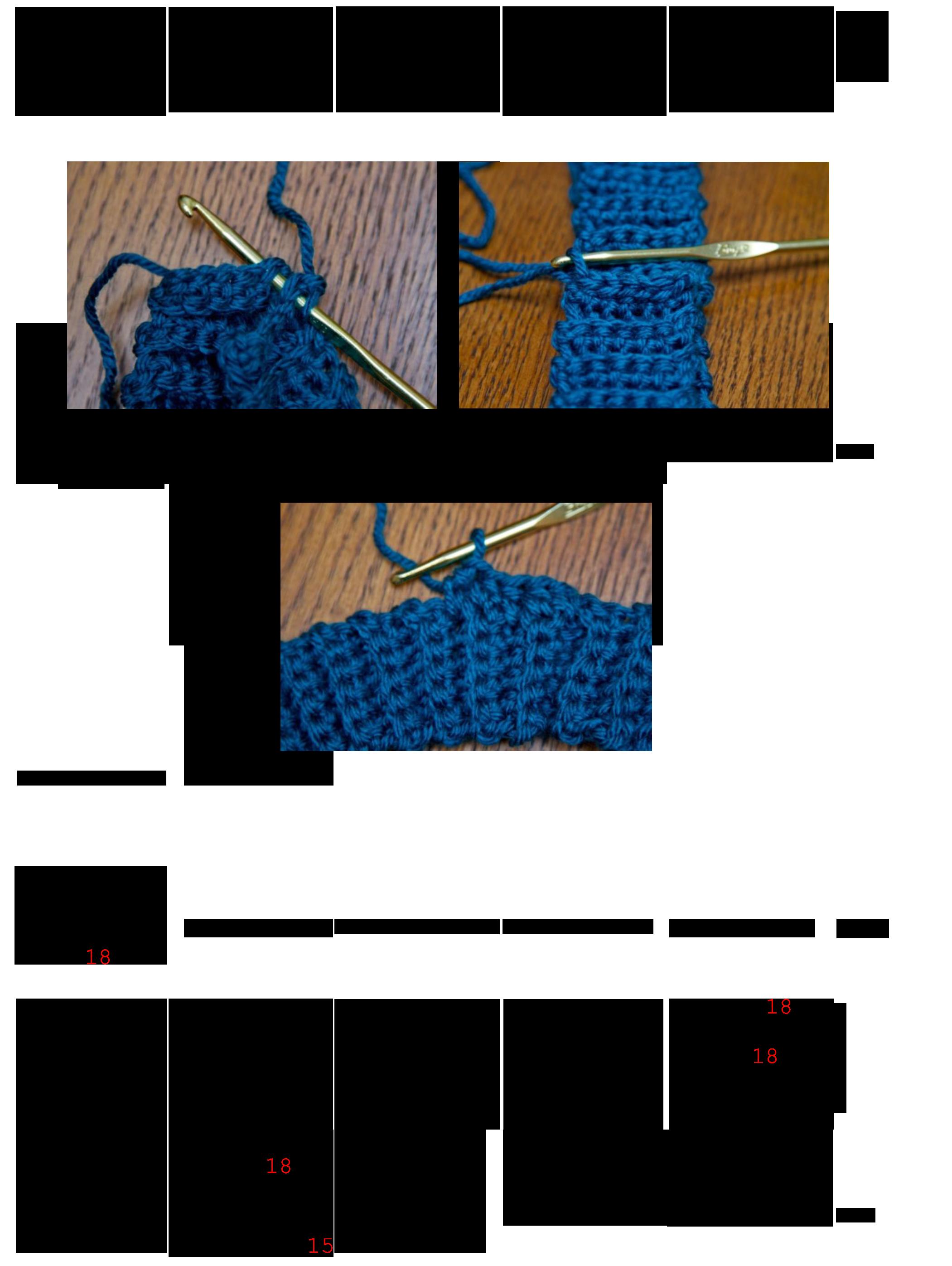 Ribbed Mittens Crochet Mitten Drive