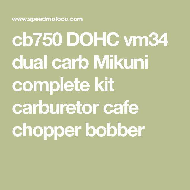 Honda Cb750 Carburetor Kit Sohc Mikuni Vm34 Cb750 Honda Cb750 Carburetor