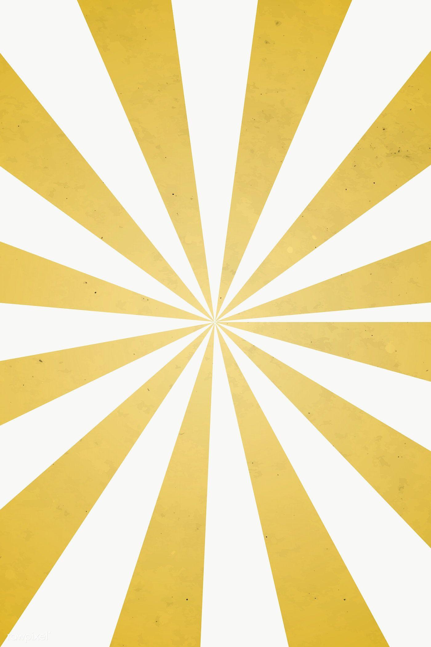 Gold Sunburst Effect Patterned Background Design Element Free Image By Rawpixel Com Mind Background Patterns Background Design Gold Sunburst