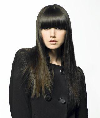 Zig Zag - long brown straight hair styles | Hair styles, Brown straight hair, Latest hairstyles
