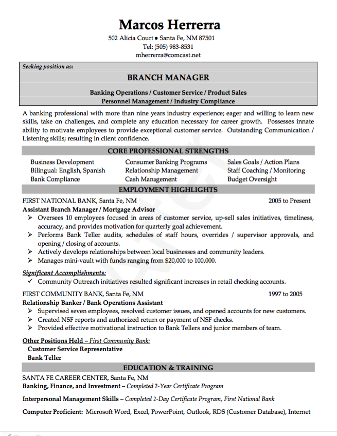 director of religious education resume example http - Catering Manager Resume
