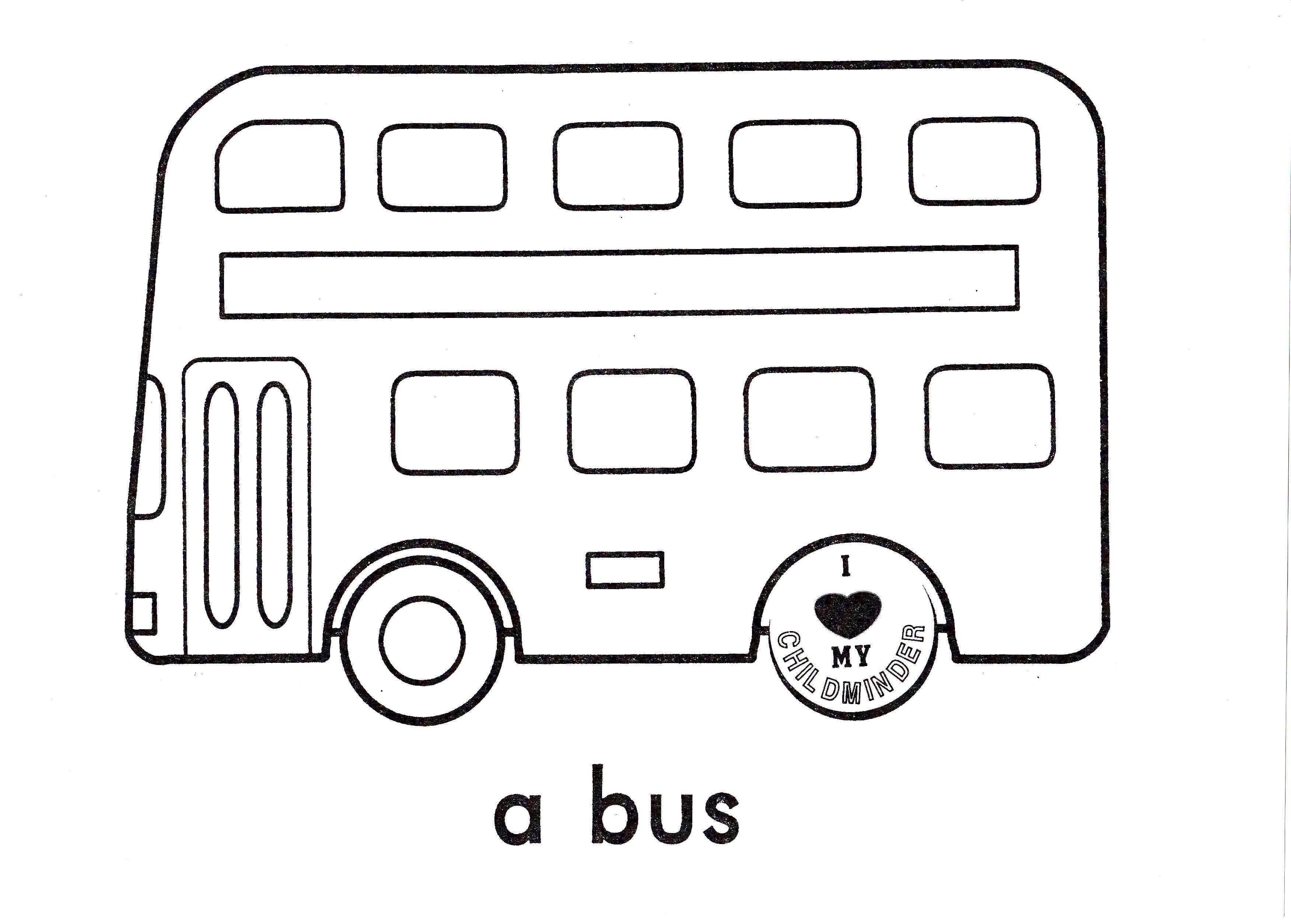 Coloring sheets for adults transport buses - Bus Multilevel Coloring Pages For Kids Printable Bus Coloring Pages For Kids