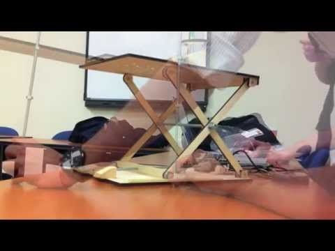 Mechanical Design Scissor Lift Project Youtube Scissor