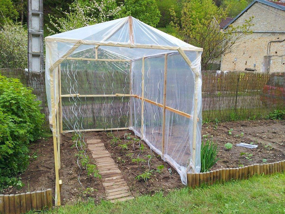 quelques lignes pour apprendre construire sa serre soi m me jardin pinterest pour. Black Bedroom Furniture Sets. Home Design Ideas