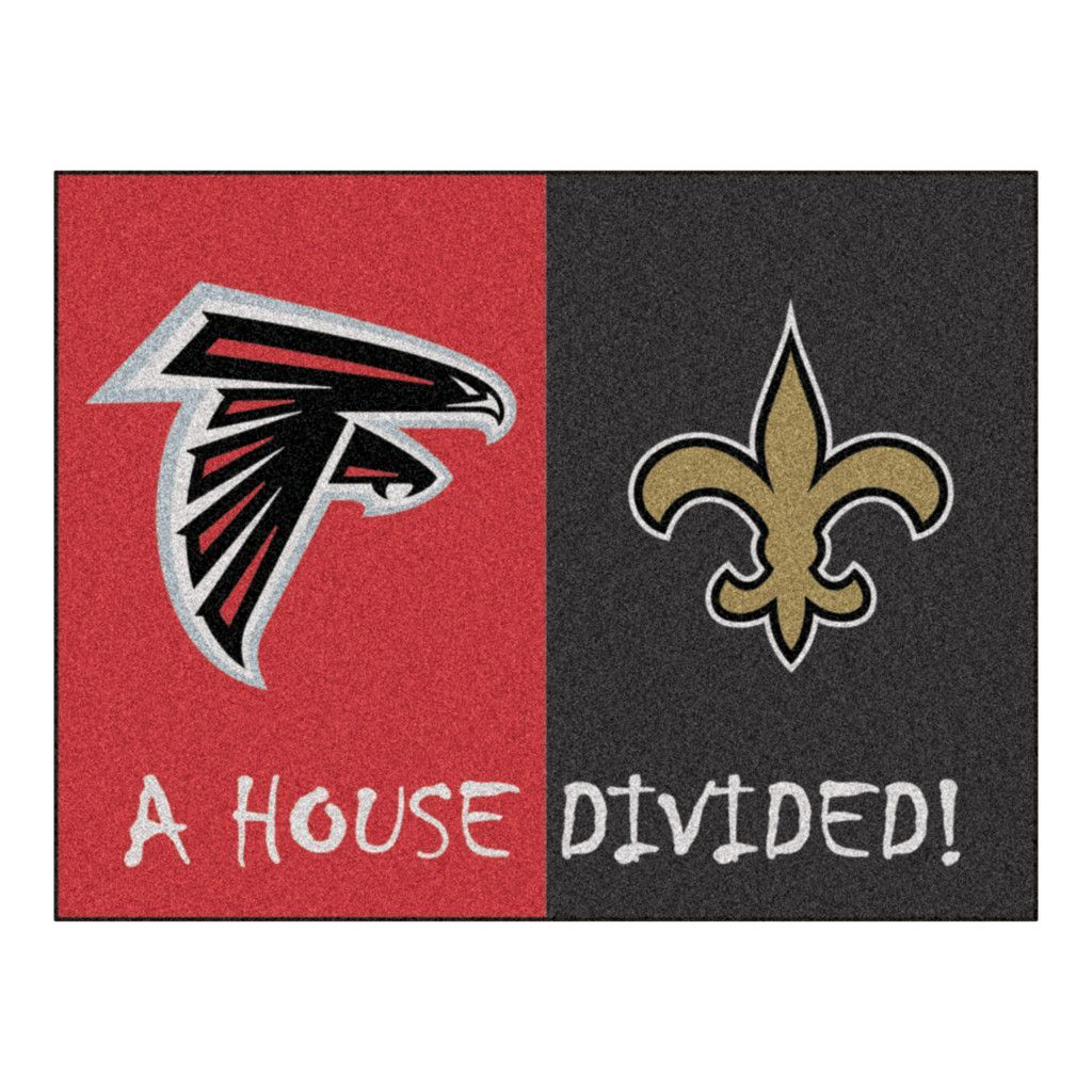 Team Logo Merchandise Sports Team Accessories Gifts And Gear At Team Sports Gift House Divided Falcons Vs Saints Atlanta Falcons