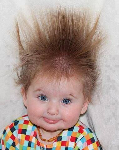Style Bad Hair Day But Still Too Cute Funny Babies Cute Kids Baby Faces