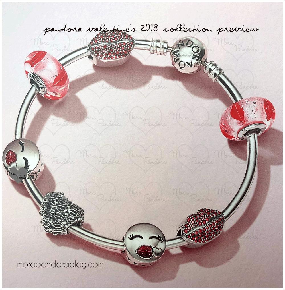 Pandora Valentine S Day 2018 Collection Preview Mora Charms Bracelets