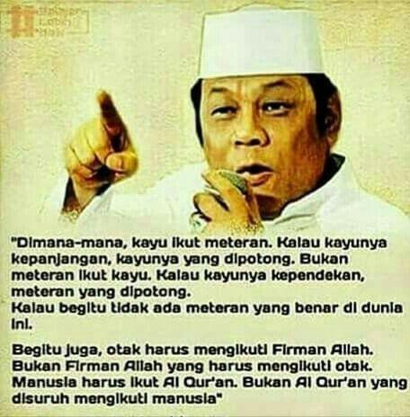 Nunamina Erwin Di Instagram Patut Kah Kitabullah Quran Di Kalah