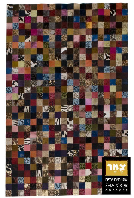 שטיח עור פרה בצמר שטיחים ישנו מבחר של שטיחי עור בצבעים ובמידות שונות להתאמה מושלמת בחלל הבית. שטיחי עור בשילוב קוביות בגווניחום, שחור, לבן, בג`, קרם ועוד. .
