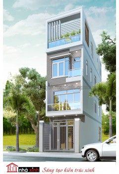 Mẫu thiết kế nhà phố đẹp | Nhà Chị Thủy - Bình Thạnh - NP-NNX0620