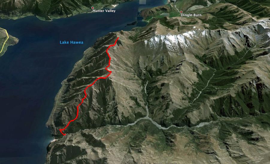 Image result for corner peak hawea