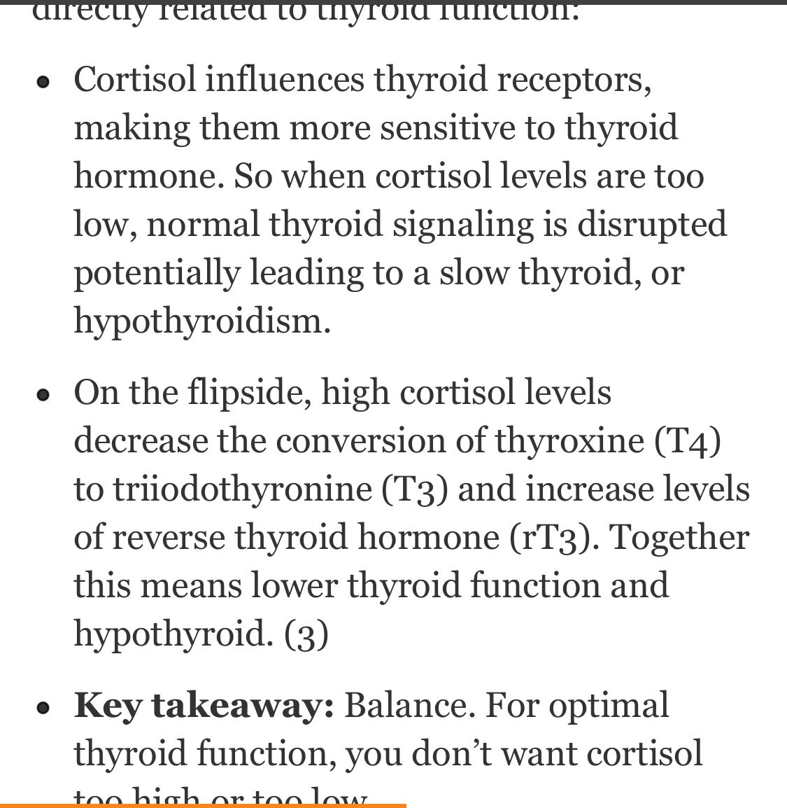 High Or Low Cortisol And How It Affects The Thyroid Aceite Aceites Esenciales Esencial