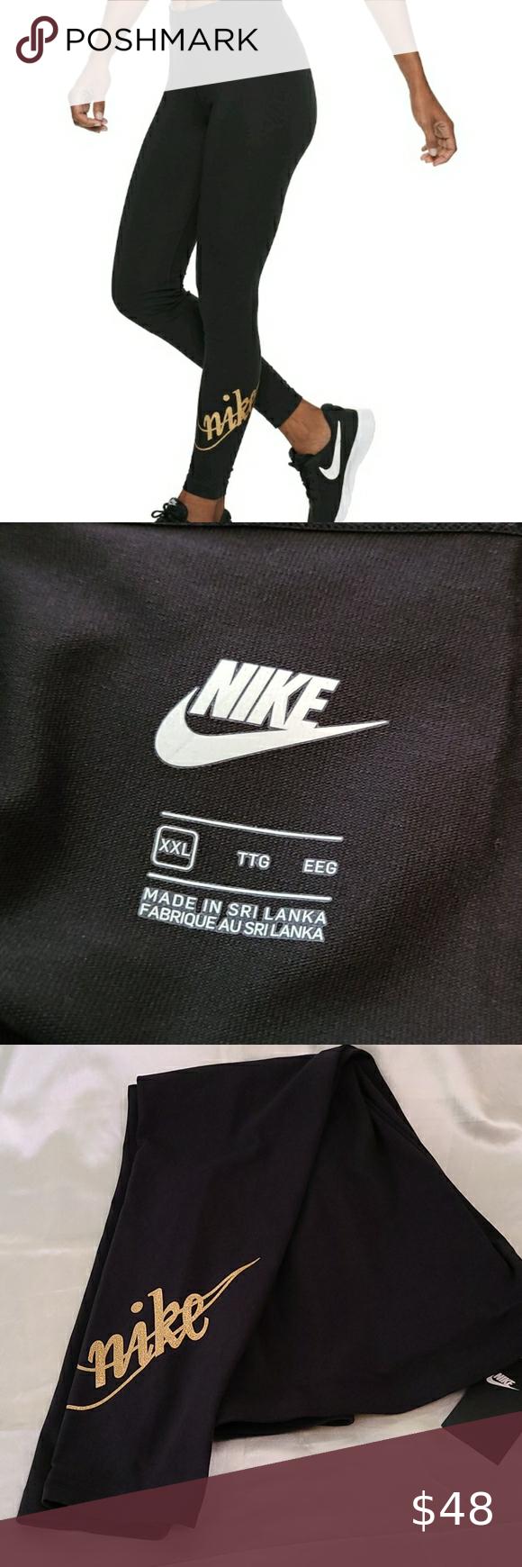 Nike Glitter Leggings   18X   Sportswear leggings, Glitter leggings ...