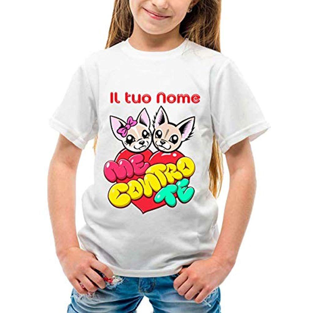 T-Shirt Cuore Me Contro Te Idea Regalo Sofi e Lui MOD.1