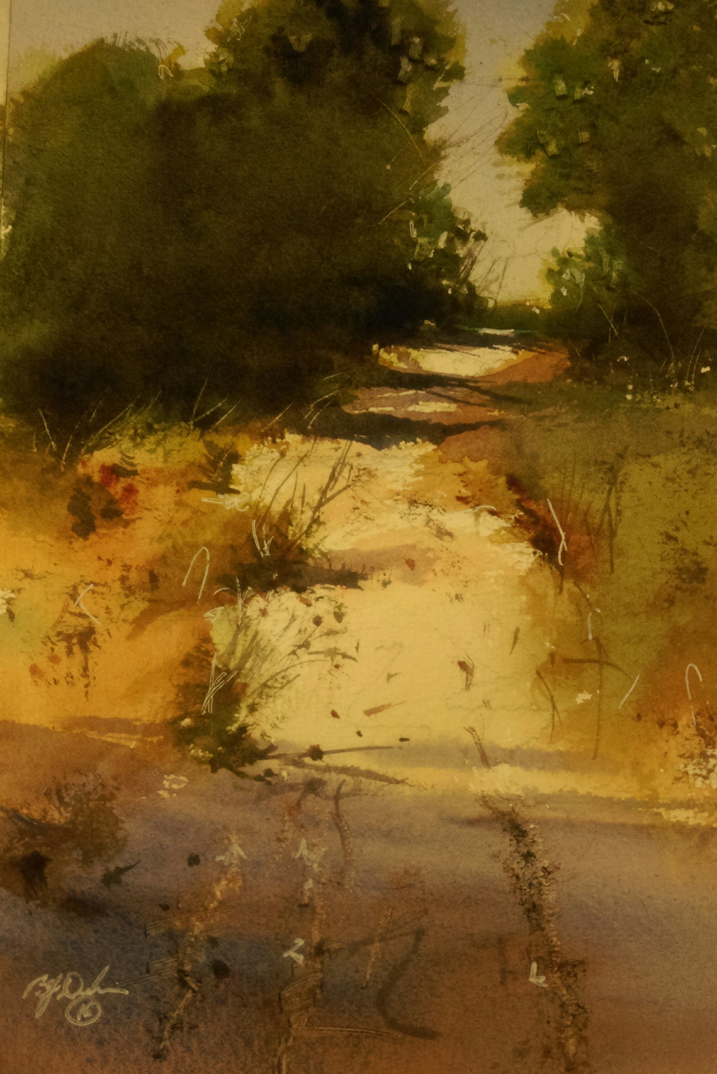 Road To The Beach By Brian Dickinson Paintings For Sale