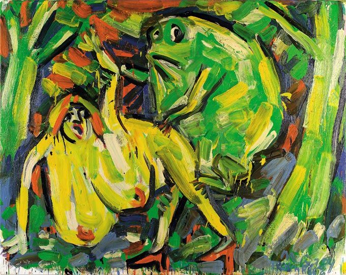 OTTO MUEHL The Frog Prince