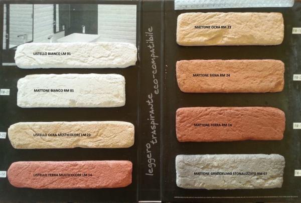 Costo mattoni per parete mattoni finti per decorazione mattoni riprodotti mattoni in pietra - Parete pietra ricostruita ...