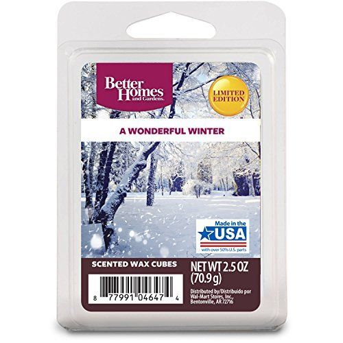 b3efb724f0ad5f30123287dbb6ee559f - Better Homes And Gardens A Wonderful Winter Wax Cubes