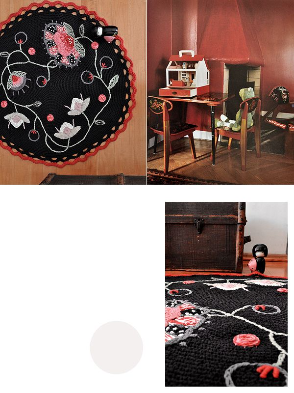 felicitas rug via miga de pan via milk magazine