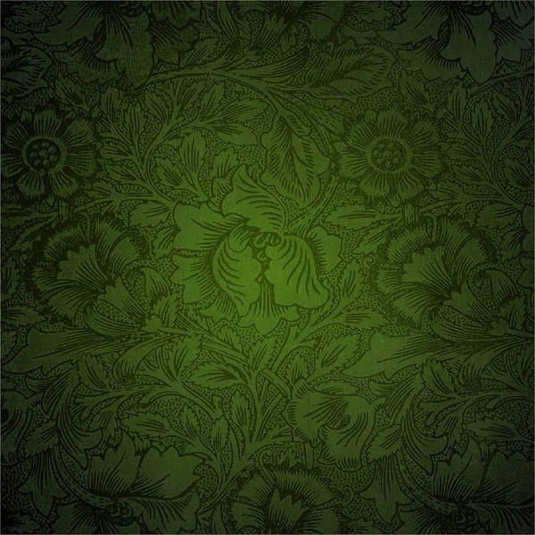 Green Deco Background