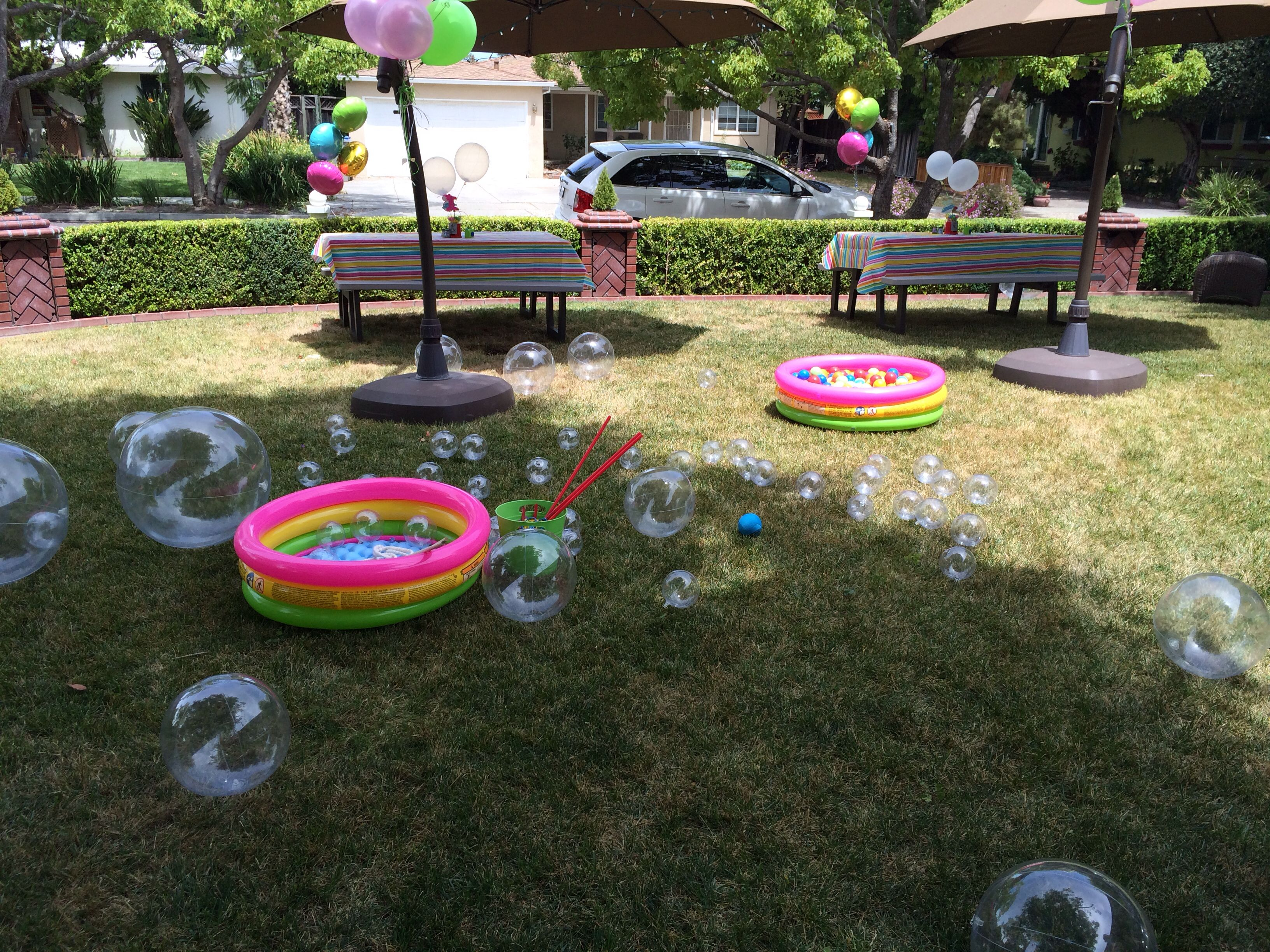 bubble party activities u0026 decor kiddie pools ball pit balls