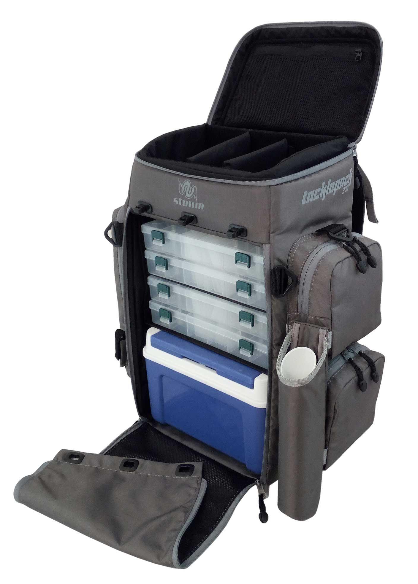 Backpack fishing chair - Stunm Tacklepack 270 Fishing Tackle Bag Backpack Tackle Bags For Angling Tackle