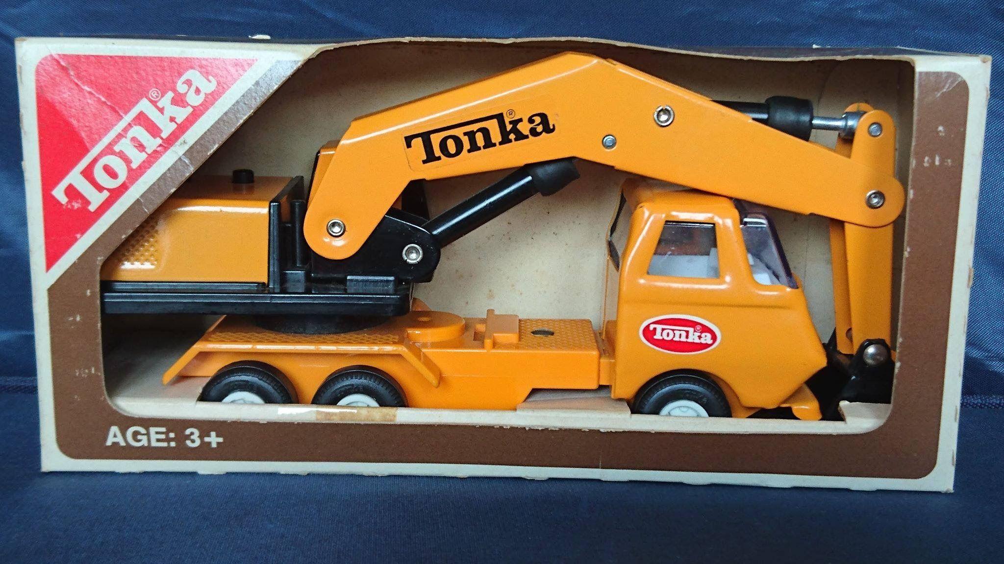 1970 Canadian Tonka Tiny Crane 968 (Japanese made) Toy