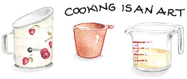 cooking is an art | Susan Branch Blog