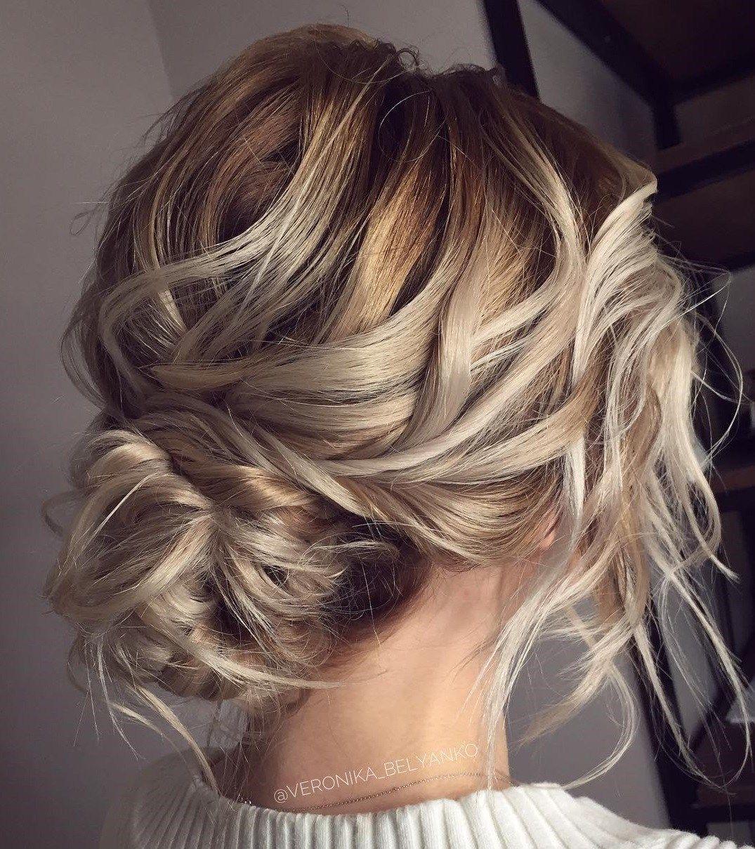 60 Trendiest Updos for Medium Length Hair #bunupdo