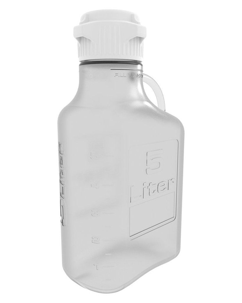 5l 1 Gal Petg Carboy With 83mm Cap Bottle Container Easy Cleaning