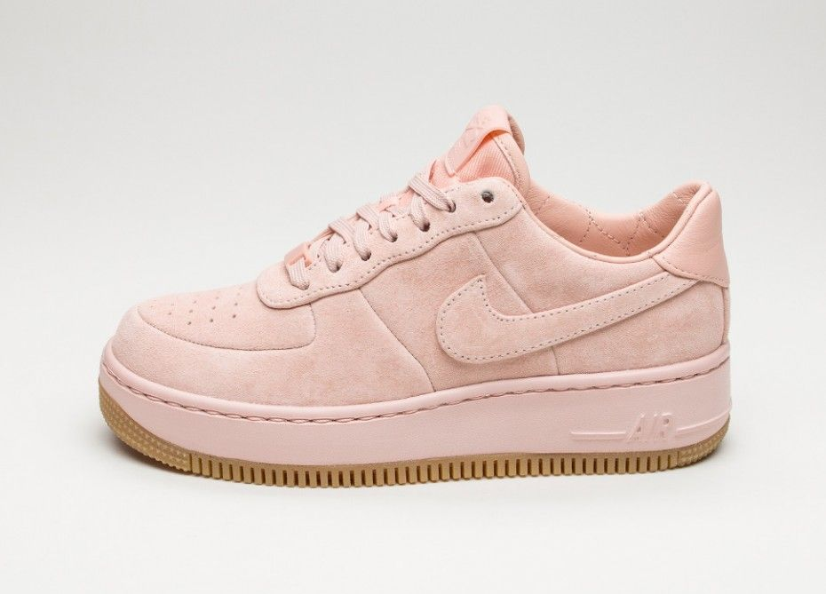 Nike Wmns Air Force 1 Upstep LX (Arctic Orange / Arctic Orange - Dark  Raisin)