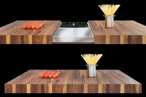 Superieur Hide Away Induction Cooktop By Schulte Design