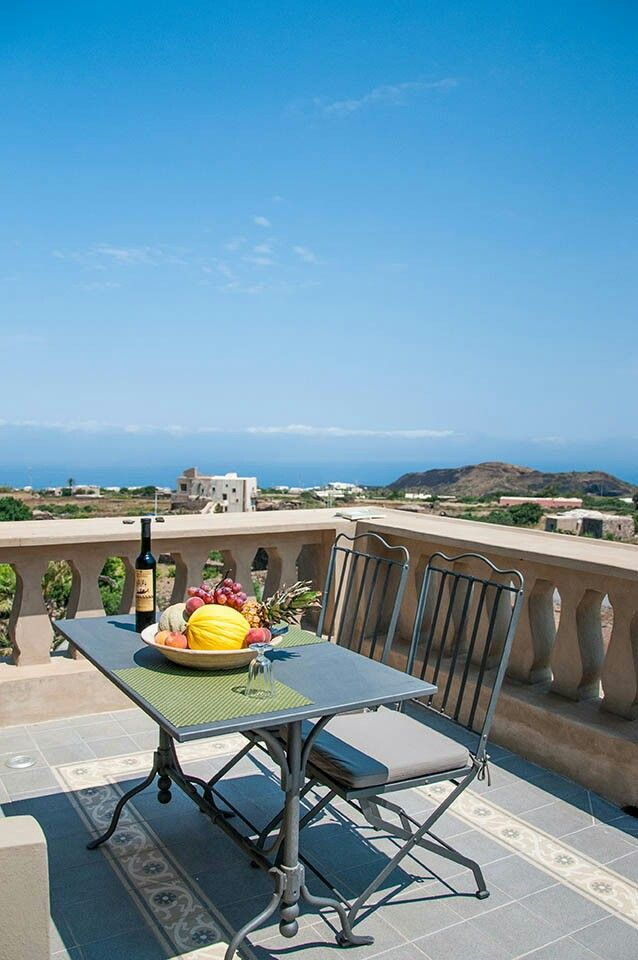 An incredible panorama of Pantelleria from Resort Acropoli