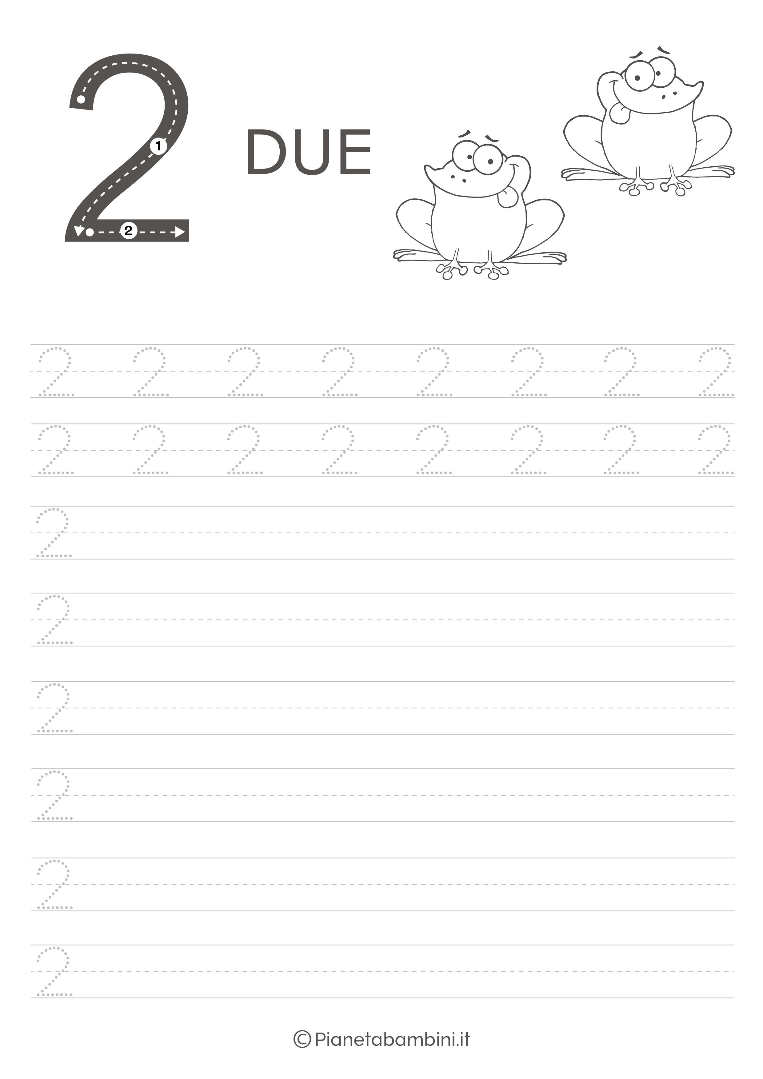 Schede Di Pregrafismo Dei Numeri Da 0 A 9 Da Stampare Schede