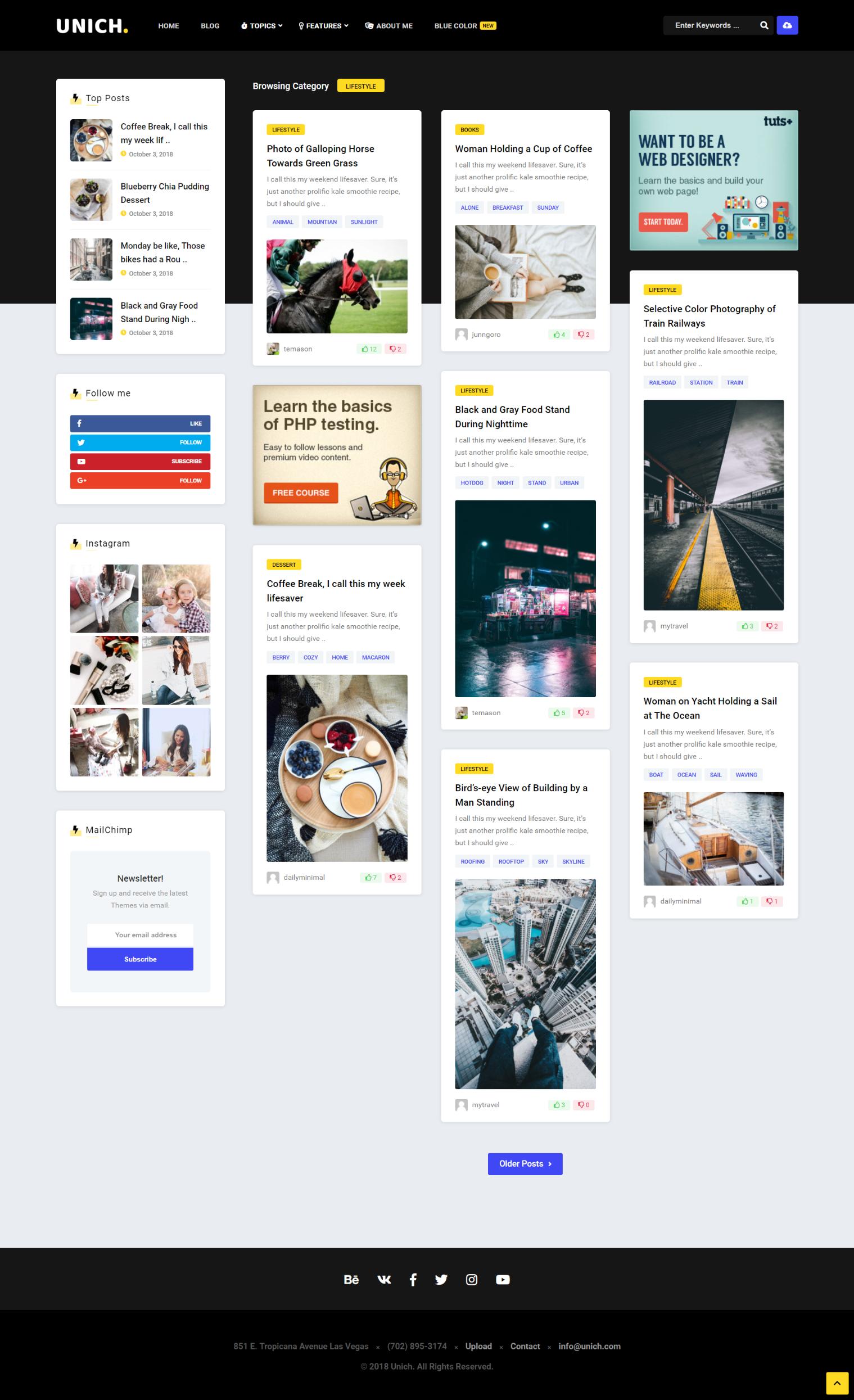 11 Newest Contemporary Wordpress Themes To Upgrade Your Blog Blog Themes Wordpress Wordpress Website Design Wordpress Ecommerce Theme