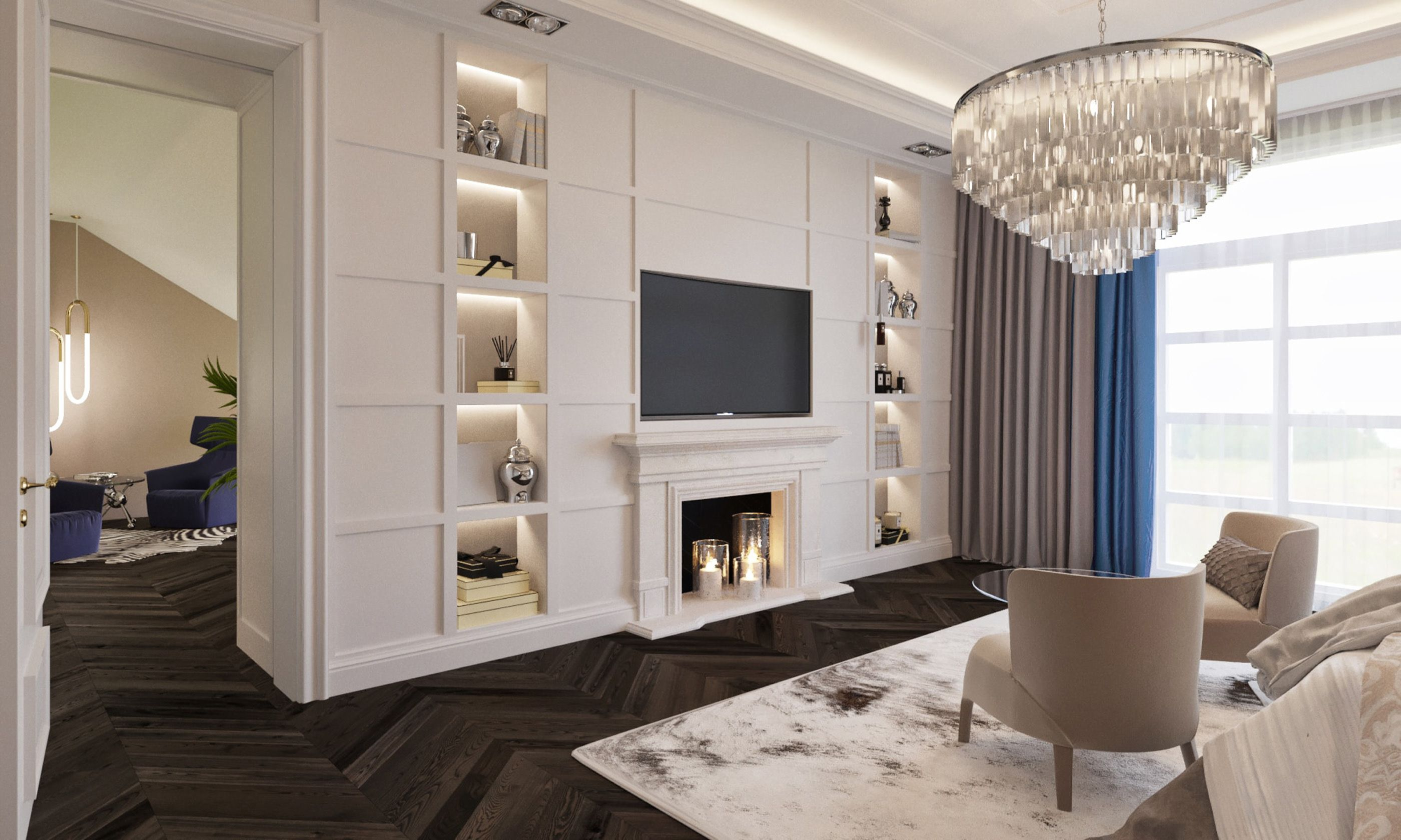 Duplex interior on Behance | Condo interior, Home design ...